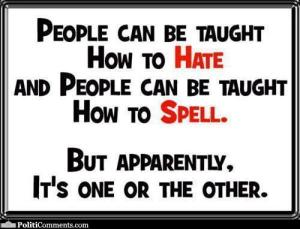 hate or spell